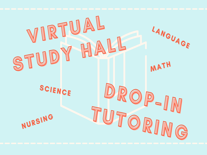 Virtual Study Hall and Drop In Tutoring Image